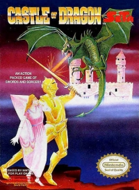 Castle of Dragon Box Art
