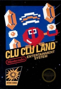 Clu Clu Land Box Art