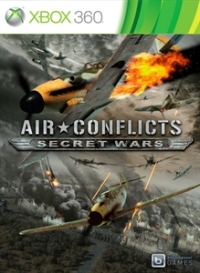 Air Conflicts: Secret Wars Box Art
