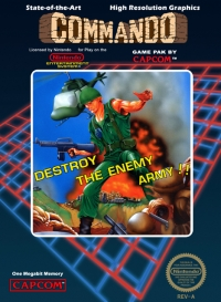 Commando (3 screw cartridge) Box Art