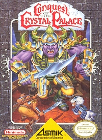 Conquest of the Crystal Palace Box Art