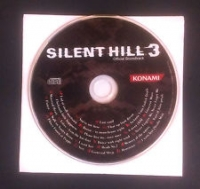 Silent Hill 3 Official Soundtrack Box Art