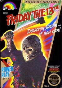 Friday the 13th (round Seal) Box Art