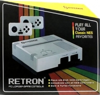 Hyperkin RetroN FC Loader Game Console (Silver) Box Art