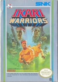 Ikari Warriors (3 screw cartridge) Box Art