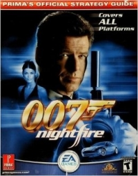 007: NightFire - Prima's Official Strategy Guide Box Art