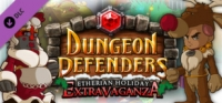 Dungeon Defenders: Etherian Holiday Extravaganza Box Art