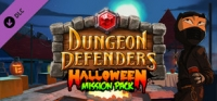 Dungeon Defenders: Halloween Mission Pack Box Art