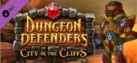 Dungeon Defenders: City in the Cliffs Mission Pack Box Art