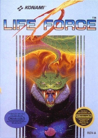 Life Force Box Art