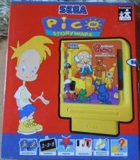 Professor Pico und das Malkasten-Puzzle Box Art