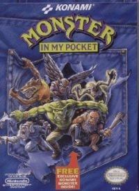 Monster in My Pocket Box Art