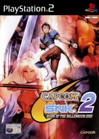 Capcom vs. SNK 2: Mark of the Millenium 2001 Box Art