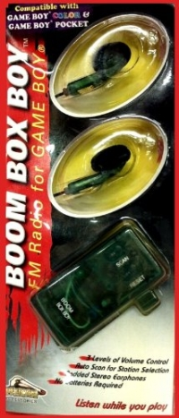 Boom Box Boy Box Art