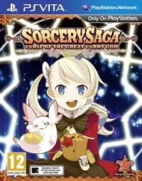 Sorcery Saga: Curse of the Great Curry God Box Art