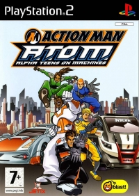 Action Man A.T.O.M.: Alpha Teens on Machines Box Art