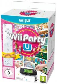 Wii Party U - White Wii Remote Plus Box Art