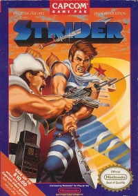 Strider Box Art