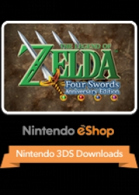 Legend of Zelda, The: Four Swords Anniversary Edition Box Art