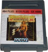 Barbarian II: The Dungeon of Drax Box Art