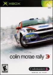 Colin McRae Rally 3 Box Art