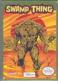 Swamp Thing Box Art