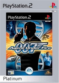 007: Agent Under Fire - Platinum Box Art