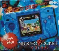 Neo Geo Pocket Color (Aqua Blue) Box Art