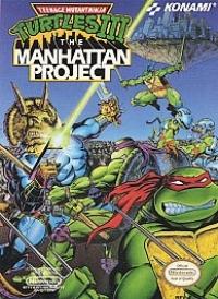Teenage Mutant Ninja Turtles III: The Manhattan Project Box Art