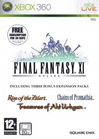 Final Fantasy XI Online Box Art