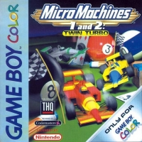 Micro Machines 1 and 2: Twin Turbo Box Art