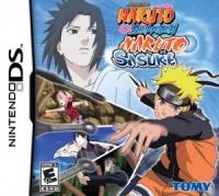 Naruto Shippuden: Naruto vs. Sasuke Box Art