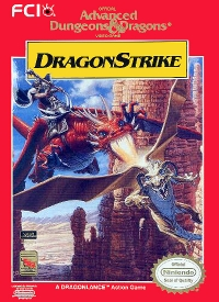 Advanced Dungeons & Dragons: Dragon Strike Box Art