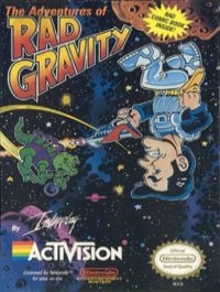 Adventures of Rad Gravity, The Box Art