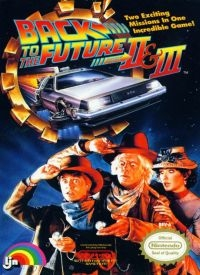 Back to the Future Part II & III Box Art