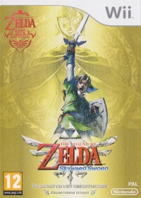 Legend of Zelda, The: Skyward Sword - Gelimiteerde Uitgave Box Art