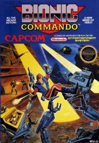 Bionic Commando (round seal) Box Art