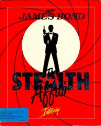 James Bond: The Stealth Affair Box Art