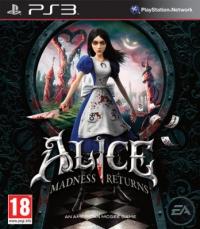 Alice: Madness Returns [DK][FI][NO][SE] Box Art