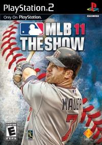 MLB 11 The Show Box Art