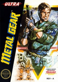 Metal Gear Box Art