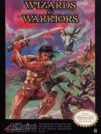 Wizards & Warriors (3 screw cartridge, oval seal) Box Art