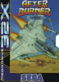 After Burner: Complete Box Art