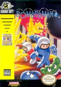 Bomberman II Box Art