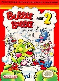 Bubble Bobble Part 2 Box Art