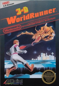 3-D Worldrunner (5 Screw Cartridge) Box Art
