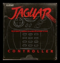 Jaguar Controller Box Art