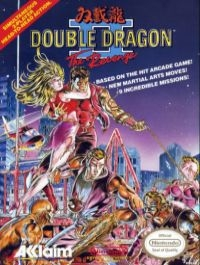 Double Dragon II: The Revenge (oval seal with TM) Box Art