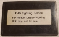 F-16 Fighting Falcon (Not for Resale) Box Art