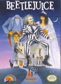 Beetlejuice Box Art
